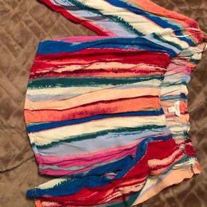 Candies multi color crop top